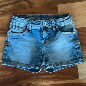 Justice Jean Shorts Size 12S